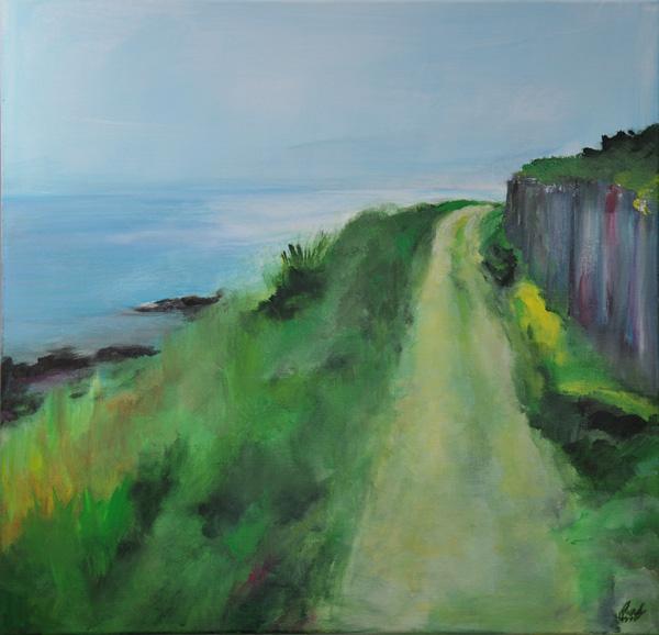 Peinture chemin côtier