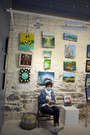 Expo collective avec l'Arrêt Création